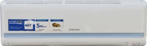 Samsung 1 Ton 5 Star Split AC  - White