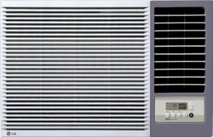 LG 1.5 Ton 5 Star Window AC  - White