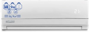 Mitashi 1.5 Ton 5 Star Split AC  - White