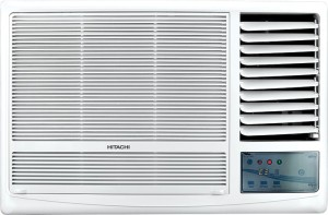 Hitachi 1.5 Ton 5 Star Window AC  - White