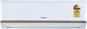 Hyundai 1.5 Ton 3 Star Split AC  - White(HS4F53.GCR-CM, Copper Condenser)