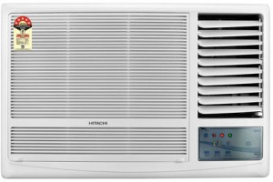 Hitachi 1 Ton 5 Star Window AC  - White
