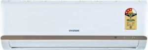Hyundai 1 Ton 3 Star Split AC  - White