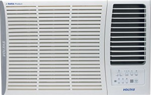 Voltas 1 Ton 5 Star Window AC  - White