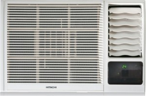 Hitachi 1.5 Ton 3 Star Window AC  - White