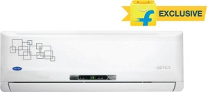 Carrier 1.5 Ton 5 Star Split AC  - White