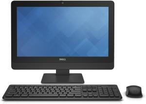 Dell - (Core i3/4 GB DDR3/500 GB/Ubuntu)Black, 19 5 Inch Screen