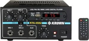 Krown KTA-450USB 45 Watts 25 W AV Power AmplifierBlack