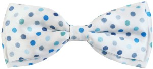 Blacksmith Polka Bluedesign Bow Polka Print Men's Tie