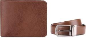 Izod Belt + Wallet Men's  Combo