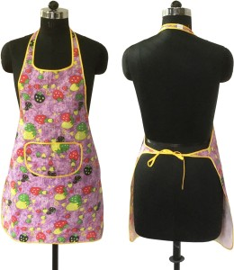 Lushomes Blended Home Use Apron - Free Size