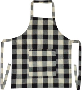 Adt Saral Cotton Chef's Apron - Free Size