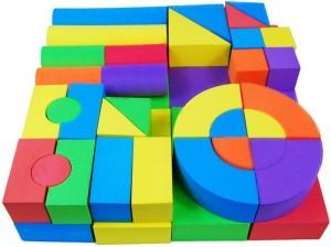 Krypton Foam Building Blocks 50 Pcs Set