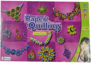 Dcs Paper Quilling Jewellery Making Kits For Kids