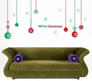 PopDecals Christmas Decals Balls Beautiful Tree Wall