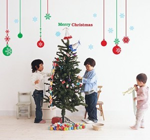 PopDecals Christmas Decals Balls Beautiful Tree Wall For Kids Rooms Teen Girls Best Price In India