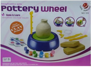 caae99b703b2b Darling Toys Pottery Wheel Complete Activity Kit Best Price in India ...