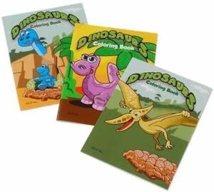 US Toy Mini Dinosaur Coloring Books