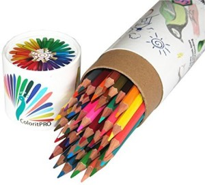 Coloritpro Best Colored Pencils x25CF Coloring Pencils x25CF Drawing ...