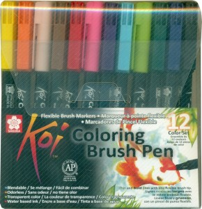 Sakura Koi Coloring Brush Pen Best Price in India | Sakura Koi ...