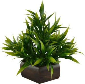 The Fancy Mart FP-0235-888 Green Wild Flower Artificial Flower  with Pot