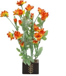 Random Wild Artificial Plant  with Pot