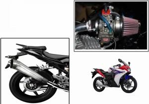 Speedwav 1 Bigul Bike Exhaust 1 Hp Bike Air Filter 42mm Honda Cbr