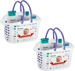 b5f43ee05901f Himalaya Baby Basket Combo White Best Price in India | Himalaya Baby ...
