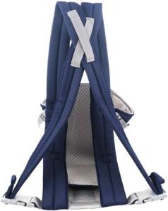 eec207fca74 Aayat Kids Designer Blue Baby Carrier Baby CarrierBlue Front Carry facing in
