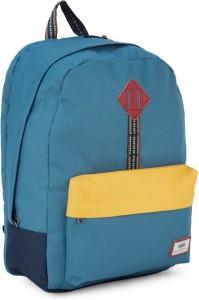 VANS OLD SKOOL PLUS Backpack Blue Yellow Best Price in India  46ec8408b