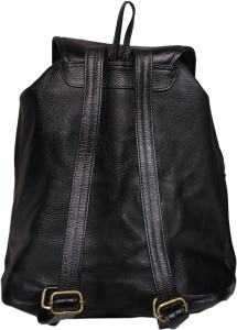 6b604bf78b Leather World Trendy 5 L Backpack Black Best Price in India ...