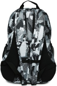 99901d2a2a Nike Nike Unisex Grey   Black Hayward Futura 2.0 Printed Backpack 25 L  BackpackMulticolor