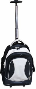 Good Times Black & Grey 32 L Trolley Laptop Backpack