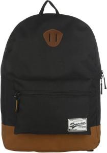 Impulse Single Pocket Black 20 L Laptop Backpack