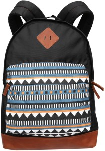 Gear Aztec Backpack BLACK-TAN 16 L Backpack