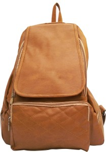519f0b3b0c98 Vintage Stylish Ladies College Backpacks Handbags light Brown(bag 147) 12.5  L Backpack