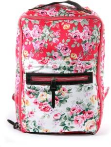 Shopharp flowercious rosso 12 L Laptop Backpack