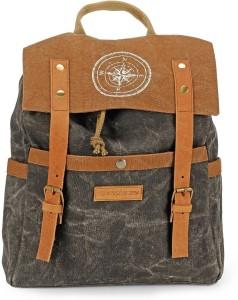 The House of Tara Dual Tone Canvas 15 L Backpack