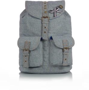 Shaun Design Denim Studded 8 L Medium Backpack