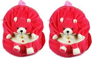 Pandora Kids School Bag - 2 Pack of Pink Teddy 5 L Backpack