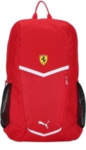 cac6c815c6 Puma Ferrari Fanwear Backpack 18 L Laptop BackpackRed