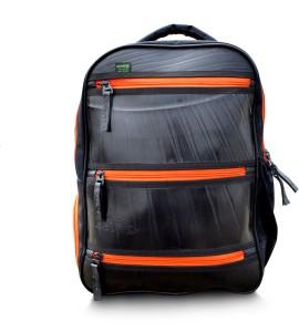 WildModa League Unisex Backpack Grey and Orange