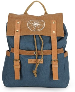 The House of Tara Dual Tone Canvas 15 L Backpack