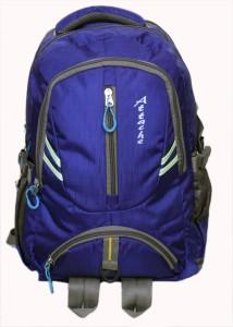 Attache Dazzling School Bag (Royal Blue ) 30 L Backpack