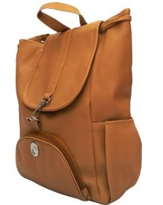 54b062d9418 Vintage Stylish Ladies Expandable Backpacks Handbags Mustard Color(bag 125) 2.5  L BackpackYellow