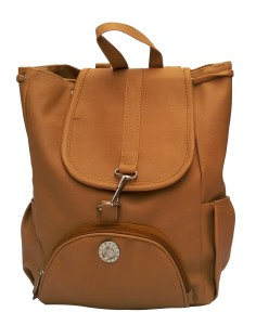 08b348f5c553 Vintage Stylish Ladies Expandable Backpacks Handbags Mustard Color(bag 125)  2.5 L Backpack
