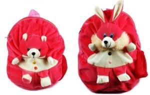 Pandora Kids School Bag - 2 Pack of Pink Teddy and Rabit 5 L Backpack