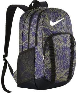 Nike Brasilia 7 34 L Backpack Grey Purple Best Price in India  195769f8e4581
