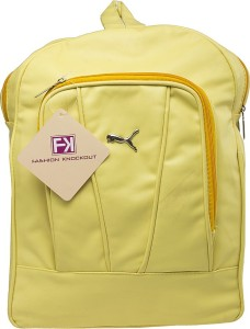 c3fc300ed9 Fashion Knockout Travel Mate Draw String 3 L Backpack Yellow Best ...