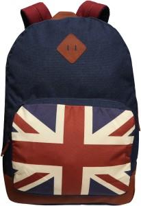 Gear England Backpack BLUE-TAN 21 L Backpack